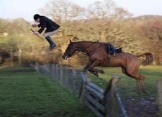 马已经情不自禁的笑了