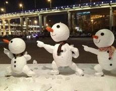 下雪了,原来如此有爱