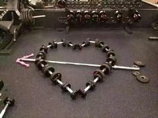 健身人士的表達愛意