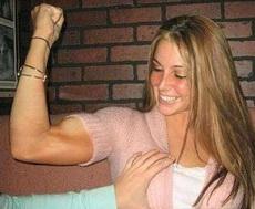 看看我的肌肉