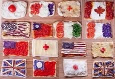 各国面包国旗