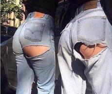 新流行的牛仔裤款式
