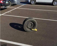 轮胎不要了