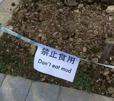 真有人吃土啊