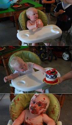 小孩子不宜吃蛋糕!