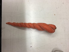 种萝卜却长出了麻花!