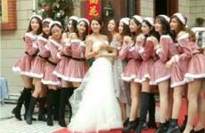新娘闺蜜这么多,新郎肯定很幸福