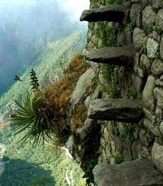 好可怕的上山路,你敢走吗?
