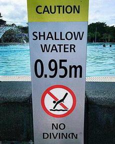 是不准男士游泳吗?