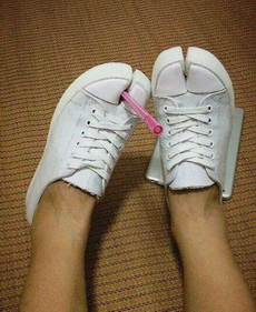 这鞋,我欣赏不来