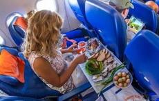 妹纸坐个飞机也得营养均衡啊