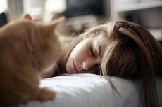 喜欢这样静静看着你睡去
