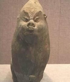 洛阳博物馆看到的镇墓兽!总觉得有种熟悉感