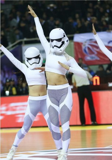 篮球宝贝也兴cosplay?