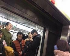 在地铁上看到了很面熟的人