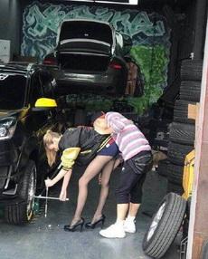你修车,我修你。