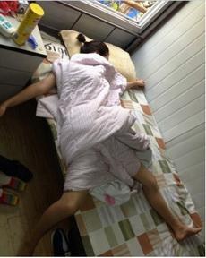 女汉子的睡觉