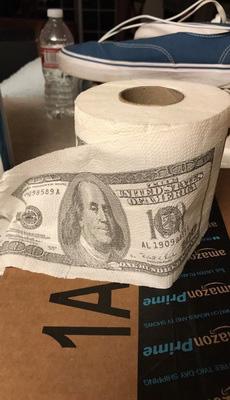 高大上的厕纸!