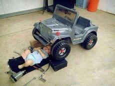 修车从娃娃抓起