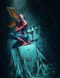 啊啊啊啊救命啊,有蜘蛛