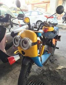 改装的摩托车!!!