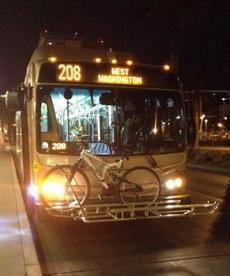 如此贴心的公交车