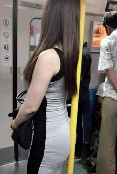 挤地铁的姑娘都是好姑娘,遇上就娶了吧