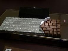 巧克力键盘,该吃还是该用呢?