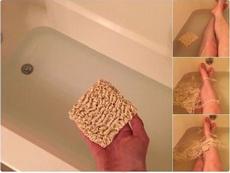 土豪最新的沐浴方式,话说果然是土豪,方便面调料都扔了