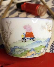 祖传的瓷碗,便宜卖了。