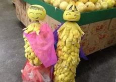 卖柚子的阿姨你也调皮了