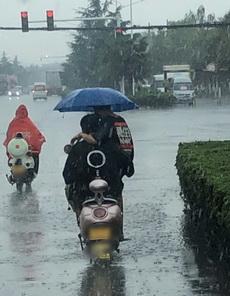 那天的雨很大