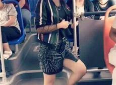 自从穿了这裙子,坐公交车在也不怕了