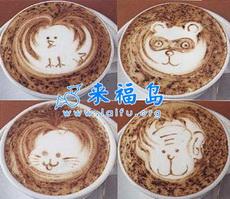 让人舍不得喝的咖啡艺术品(四)