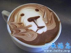 让人舍不得喝的咖啡艺术品(八)