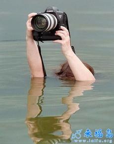 如此敬业的摄影师