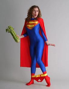 女超人的内裤掉了