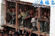 被俘的塔利班士兵