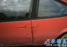 搞笑车门锁