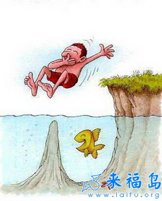 倒霉的游泳爱好者