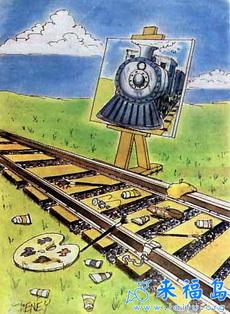 铁路艺术家