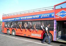 公交车上的广告,不过不知道是什么意思