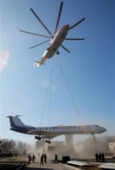 空运客机玩的是惊险
