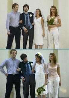 拍婚纱那天别喝酒啊