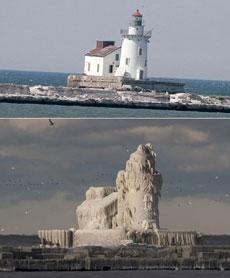 夏天的燈塔和冬天的燈塔