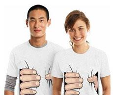 Se ven más flacos con estas camisetas