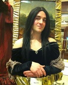 史上最强3D版cosplay版名画蒙娜丽莎,真是尼玛的嚣张哇!