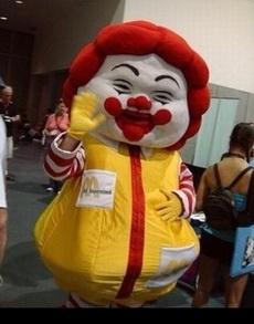 麦婶婶……你一定是肯德基吃胖的对不对?