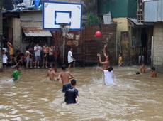 洪水也無法熄滅籃球火