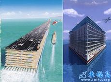 未来的海上城市